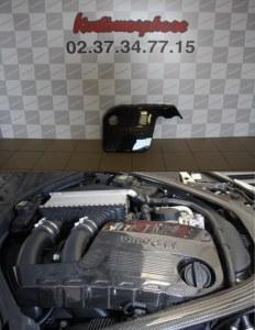 Cache moteur carbone BMW M4 F82 F83 M3 F80