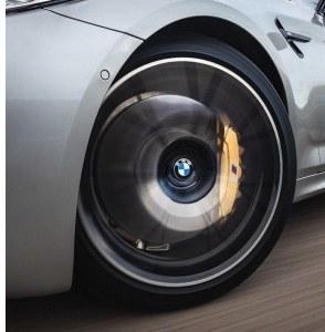 Cache-moyeu centre de roue fixe flottant pour BMW