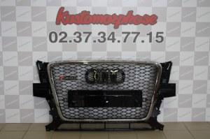 Calandre Audi Q5 8R (2008-2012) S-Line Design Edition Chrome Noir