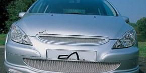 """Calandre avant """"Nickel"""" Esquiss'Auto pour 307 Phase 1"""