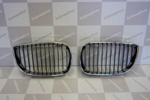 Calandre BMW série 1 chrome et noir phase 1 04-07