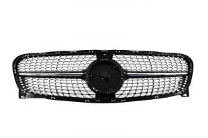 Calandre diamant black pour Mercedes GLA 2014-2017