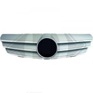 Calandre gris et chrome pour Mercedes CLK W209