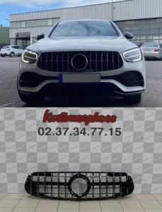Calandre GT-R AMG Panamericana pour Mercedes GLC Facelift (X253/C253) 2019+ pour pare choc AMG line
