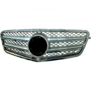calandre Mercedes classe E W212 chrome/argent 09-2012