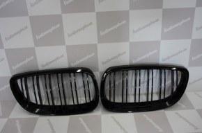 Calandre noir brillante double baton look M4 BMW E92 E93 2006 a 2009