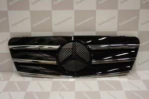 Calandre noire et chromée Mercedes CLK C208 03/97->04/02