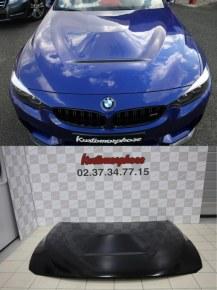 Capot BMW F30 F31 F32 F33 F36 Look M4 CS en Métal