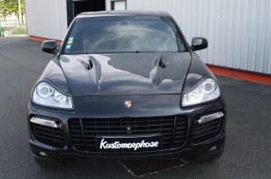 Capot carbone sport Magnum Porsche Cayenne 957