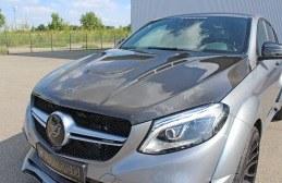 Capot en Carbone HAMANN pour Mercedes GLE Coupé