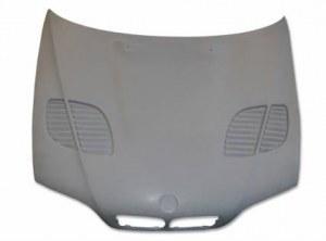 capot en fibre bmw e46 coupé cabriolet 03-06 2 porte look m3 gtr