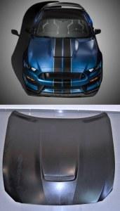 Capot en métal Ford Mustang GT350