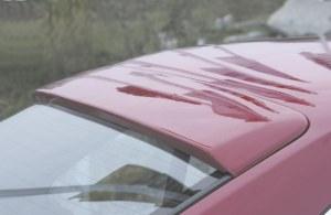 Casquette de vitre arrière BMW E34