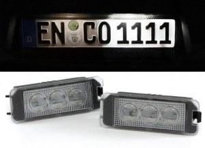 Éclairage de plaque à LED haute puissance blanc 6000K pour VW Golf 7