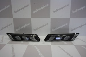 CLIGNOTANTS LATÉRAUX LED BLACK POUR PORSCHE 997/987