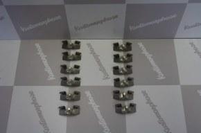 Clips agrafes de fixation bas de caisse inox renault 5 Gt turbo x12
