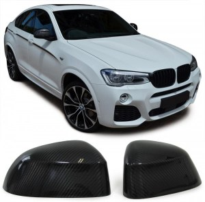 coque de rétro carbone a collé BMW