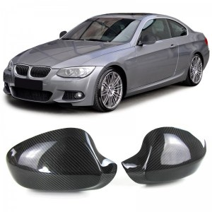 Coque de retro carbone a collé Bmw E92 E93 facelift 2010