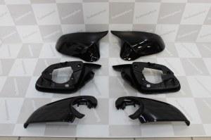 Coque de rétro Noir brillant complet bmw look M4, M3, M2