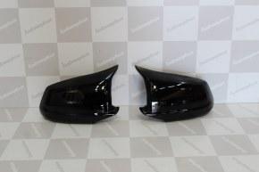 Coque de retro look M noir brillant pour bmw serie 5 F10 F11