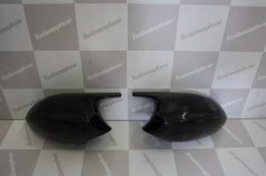 Coque de retro look M3 noir brillant pour bmw