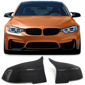 Coques de rétroviseur complètes Look M3 Carbone BMW