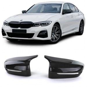 Coques de rétroviseurs carbone look M3 pour BMW serie 3 G20 G21