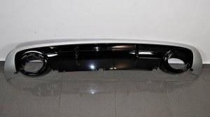 Diffuseur arrière AUDI A6 look RS6 (2008-2011) avec embout d'apparemment