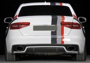 Diffuseur arrière look RS pour Audi A4 B8 facelift S-line