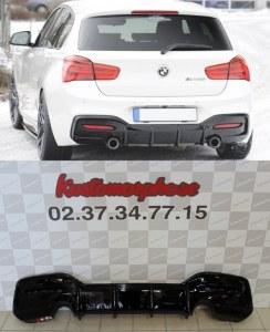 Diffuseur arrière pack M performance Look pour BMW série 1 F20 F21 LCI 135i 140i
