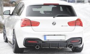 Diffuseur arrière pack M performance look pour BMW série 1 F20 F21 LCI
