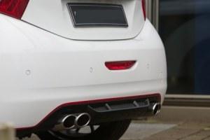 Diffuseur de pare choc ar Peugeot 208 MUSK
