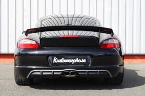 Diffuseur de pare choc arrière Porsche Cayman MK1