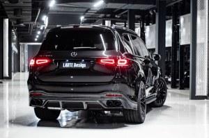 Diffuseur de pare choc arrière Carbone LARTE Design pour Mercedes GLS X167
