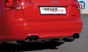 Diffuseur de pare choc arrière RIEGER Audi A4 type 8E