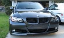 Splitter pour BMW Série 3 E90 E90 2005 à 2008