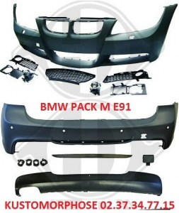 kit carrosserie BMW E91 touring Pack m