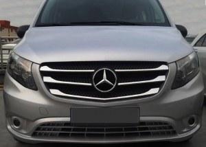Enjoliver de calandre chrome Mercedes Classe V Vito W447