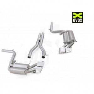EVOX Ligne d'échappement Inox Cat-Back (Après catalyseurs) à valves Mercedes C63 AMG W204