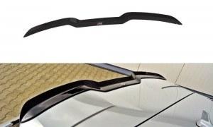 Extension de becquet de toit noir brillant pour audi A3 8V RS3