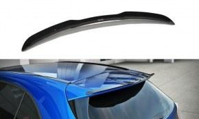 Extension de becquet de toit noir brillant pour Mercedes classe A W176