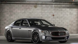 kit carrosserie de base exclusive maserati quattroporte