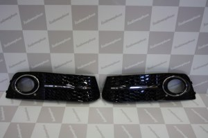 Grille antibrouillard Audi A4 (B8/B81) RS4 look