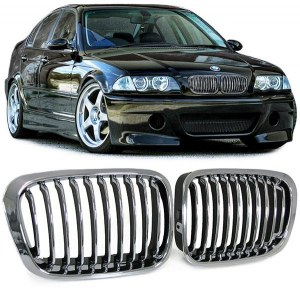 Grille de calandre chrome BMW Série 3 E46 berline phase 1
