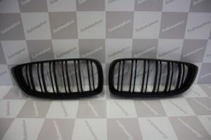 Grille de Calandre noir mat double baton look M4 BMW F32 F33 F36