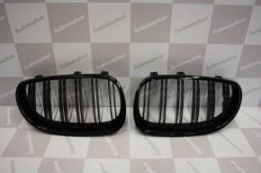 Grille de Calandre noir brillante double baton look M4 BMW E39