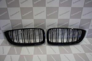 Grille de Calandre noir brillante double baton look M4 BMW F32 F33 F36
