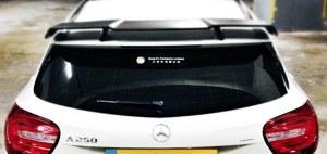 Becquet aileron pour Mercedes classe A A45 AMG