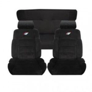 Ensemble garnitures de sièges complet tissus Peugeot 205 Rallye