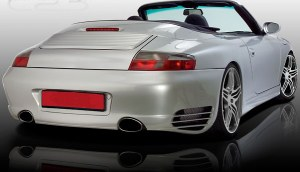 Pare choc ar porsche 996 look turbo